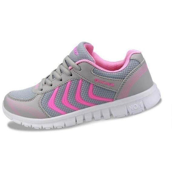 Women Outdoor Running Shoes Breathable Sneakers-Sneakers-Sour Grapes Online-White-5.5-