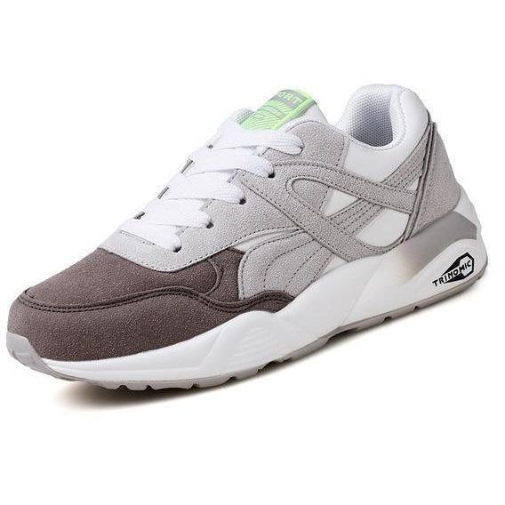 Women Outdoor Sport Running Shoes Breathable Sneakers-Sneakers-Sour Grapes Online-Grey Brown-6-