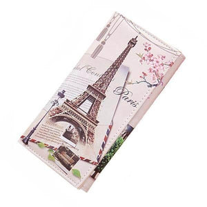 Women Wallet Clutch Purses Long Graffiti Pattern Female Purse-Wallet-Sour Grapes Online-wallet 1-