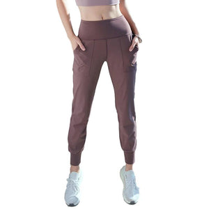 Yoga Pants With Pockets Stretch Pants Gym Wear For Women