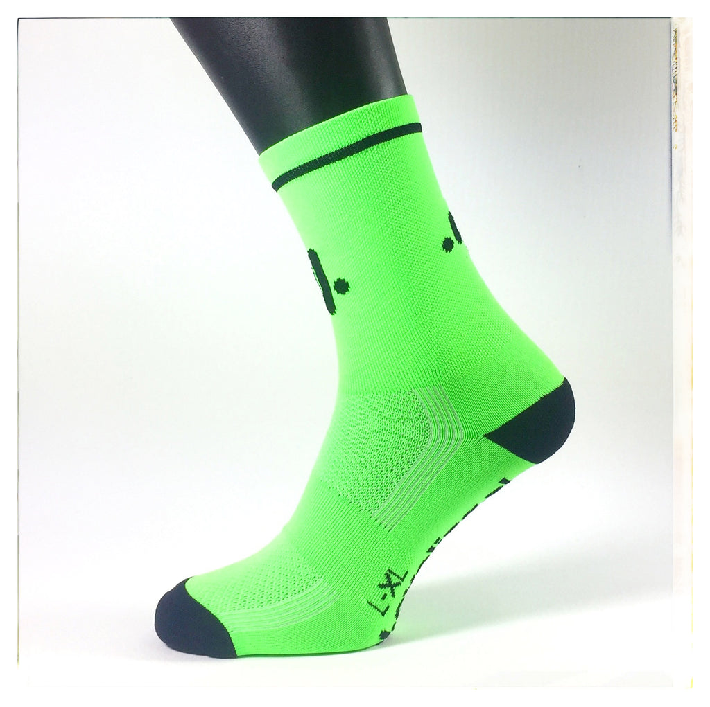 SOCKSES Socks Classic Lime Green