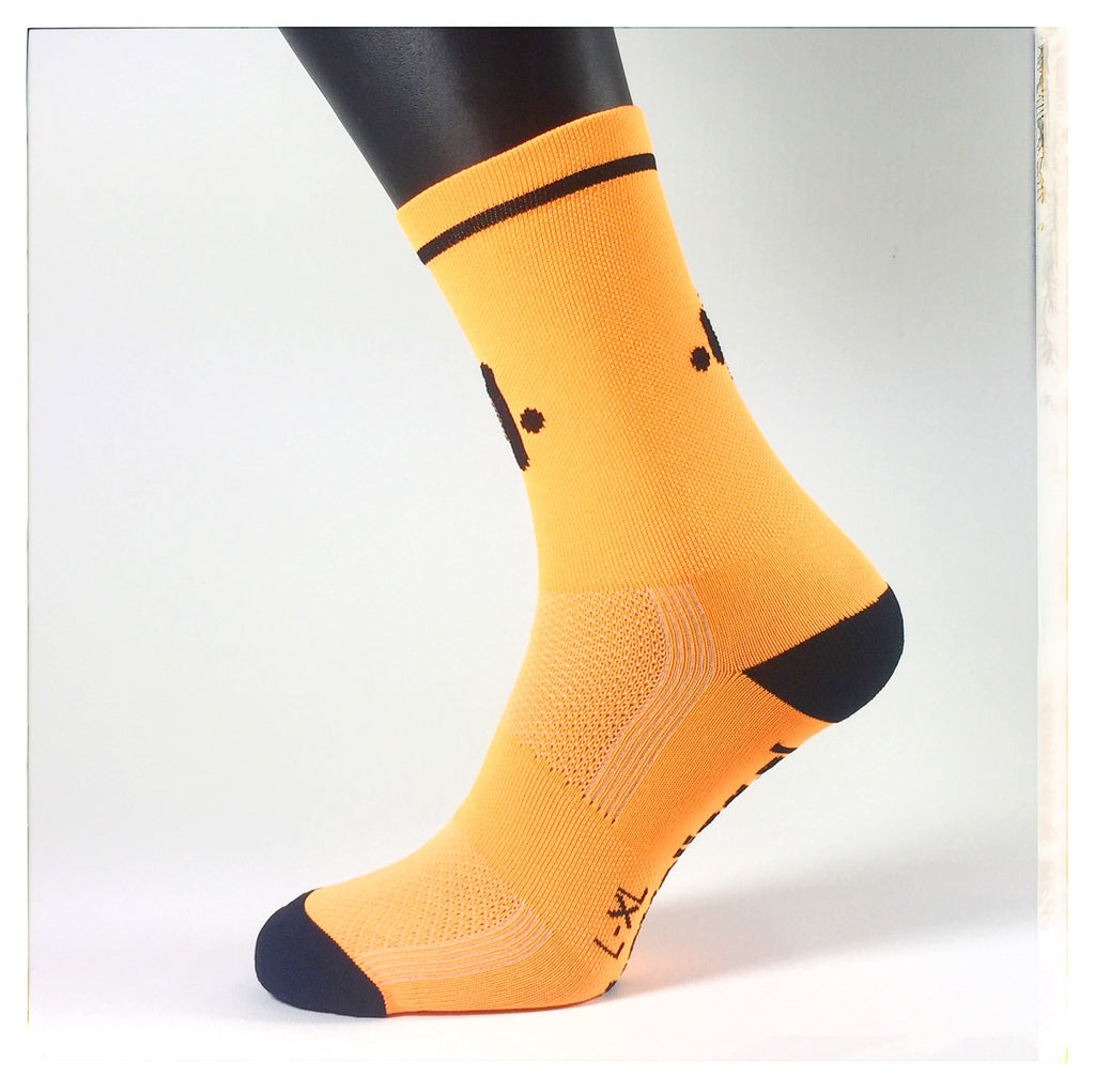 SOCKSES Socks Classic Fluro Orange