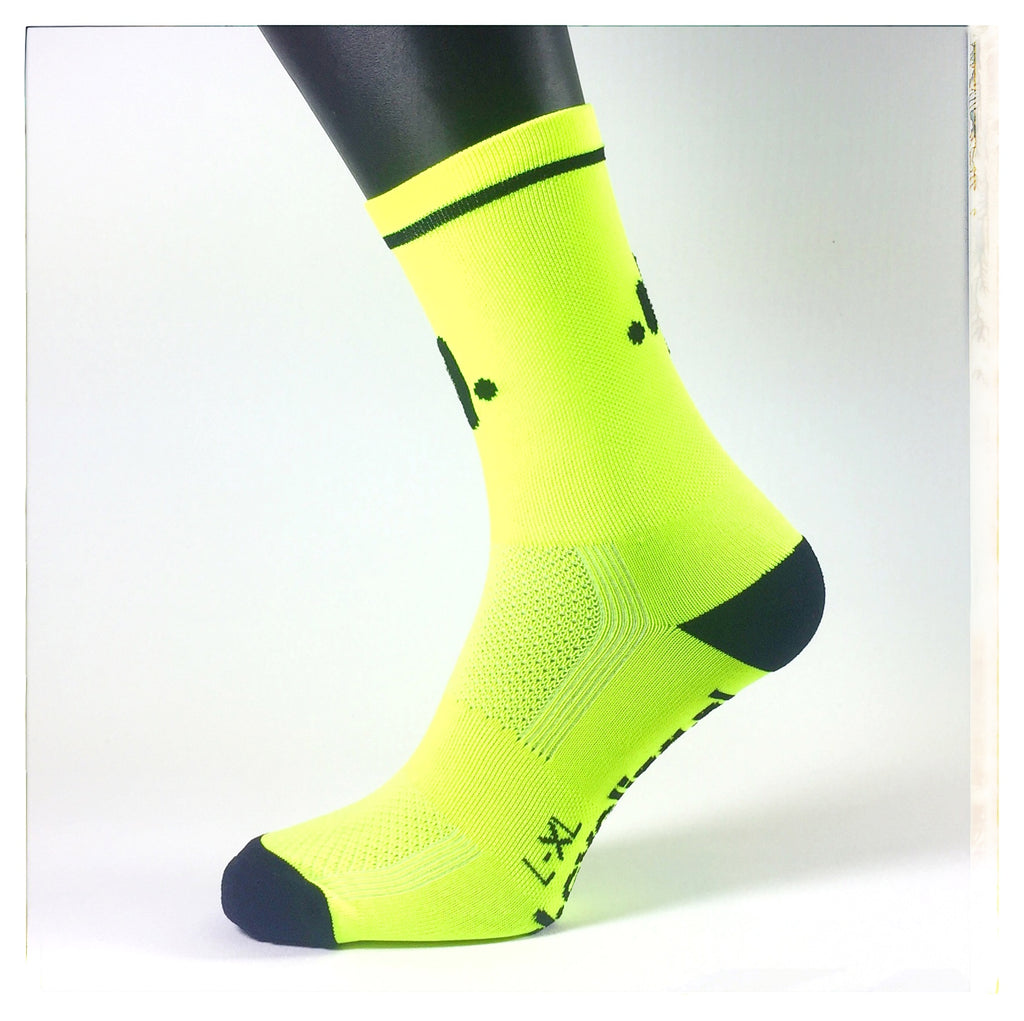 SOCKSES Socks Fluro Yellow