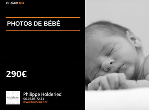 Shooting photo | BÉBÉ
