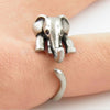 Image of Vintage Lovely Elephant Adjustable Size Fashion Rings