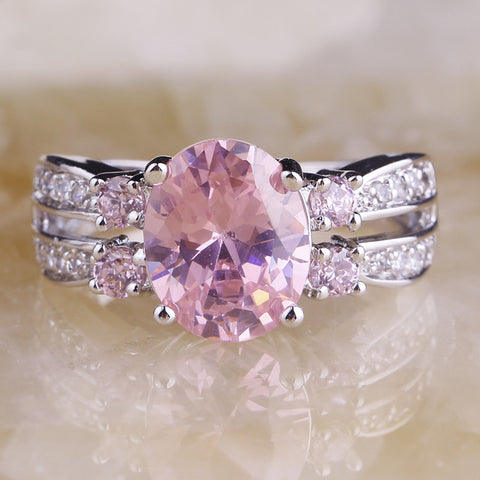 **Free Shipping** <br>Pink Love Ring