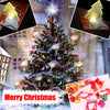 Image of Christmas Decoration Pocket Folding Tree Shape LED Light