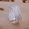 Image of silver rings handmade