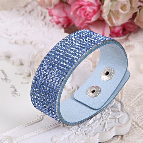 **Free Shipping** <BR>Crystal Wrap Bracelets