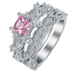 **Free Shipping** <br>Cancer Awareness Ring Set