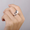 Image of Cat Ring Resizable Finger Rings