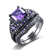 Image of **Free Shipping**<br> Ring Set For Cancer Awareness