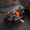 Image of Vintage Stone Punk Design Turkish Eye Bracelets Wristband