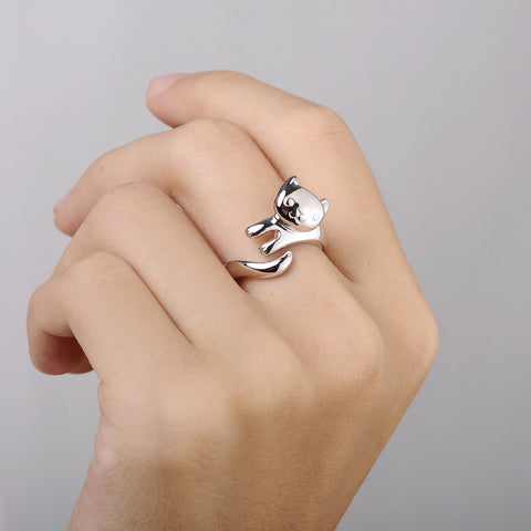 Cat Ring Resizable Finger Rings