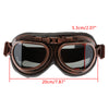 Image of Vintage Steampunk Motorcycle Goggles