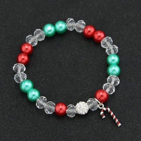 Christmas Wreath Charm Bracelet