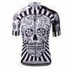 Image of Skull Quick Dry Cycling Jersey