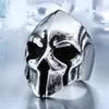 Image of Big Biker Skull Stainless Steel Unique Punk Ring