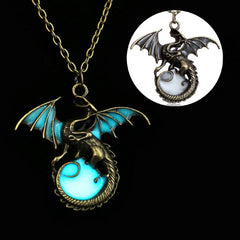Dragon Glow in the Dark Necklace