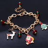 Image of Christmas Santa Claus Christmas Tree Paracord Bracelets