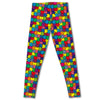 Image of Autism Awareness Fitness Leggings