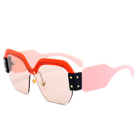 Luxury Retro Oversized Sunglasses
