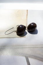 Load image into Gallery viewer, KAKUI EARRINGS - CHOCOLATE