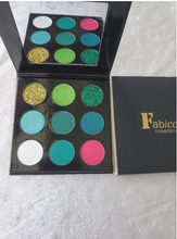 Load image into Gallery viewer, Green With Envy Eyeshadow Palette