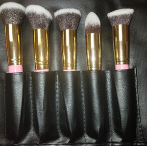 10PCS PRO PINK BRUSH SET