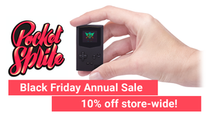 Black Friday Sale: 10% Off al PocketSprites!
