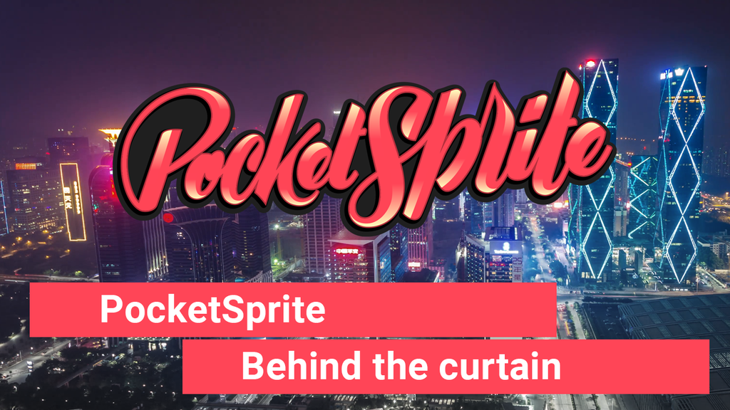 PocketSprite: Behind the scenes