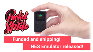 Crowdfunding Successful, NES Emulator, Shipping Started!