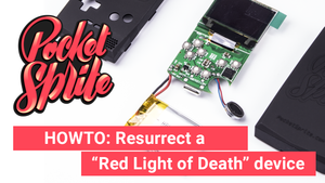"Resurrecting a ""Red Light of Death"" PocketSprite"