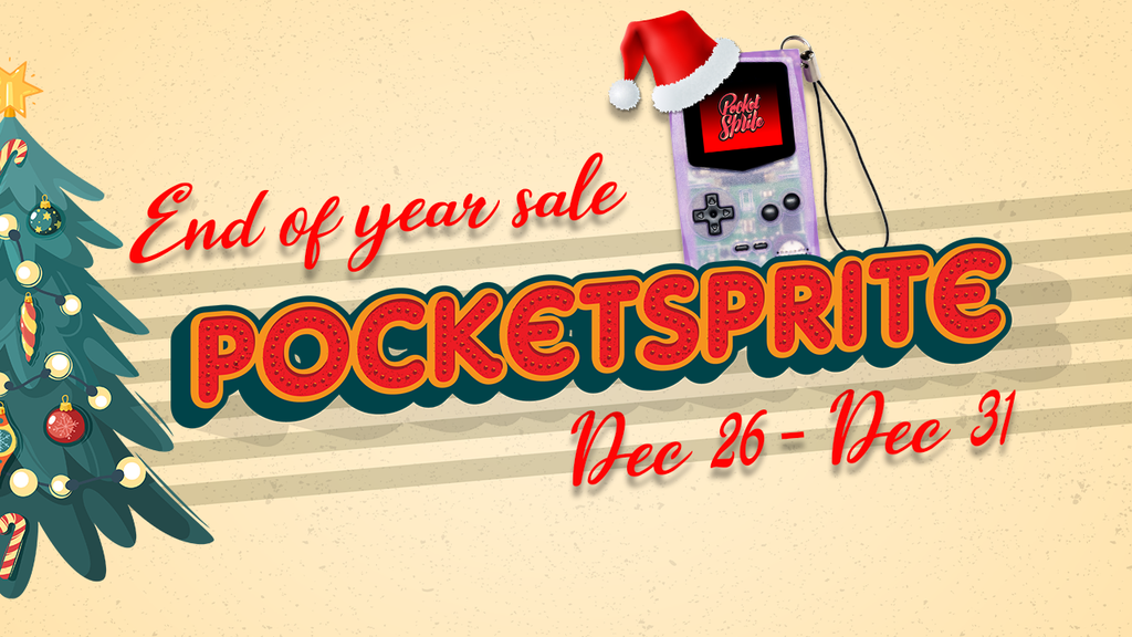 Pocketsprite End of year Sale