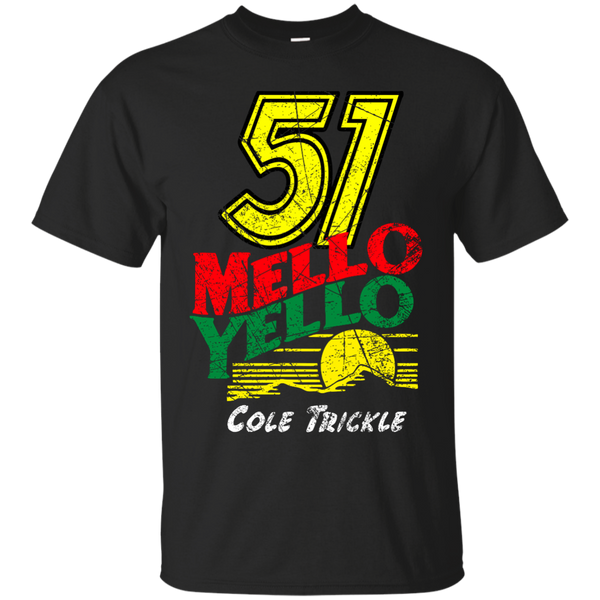 51 MELLO YELLO COLE TRICKLE DISTRESSED T-Shirt