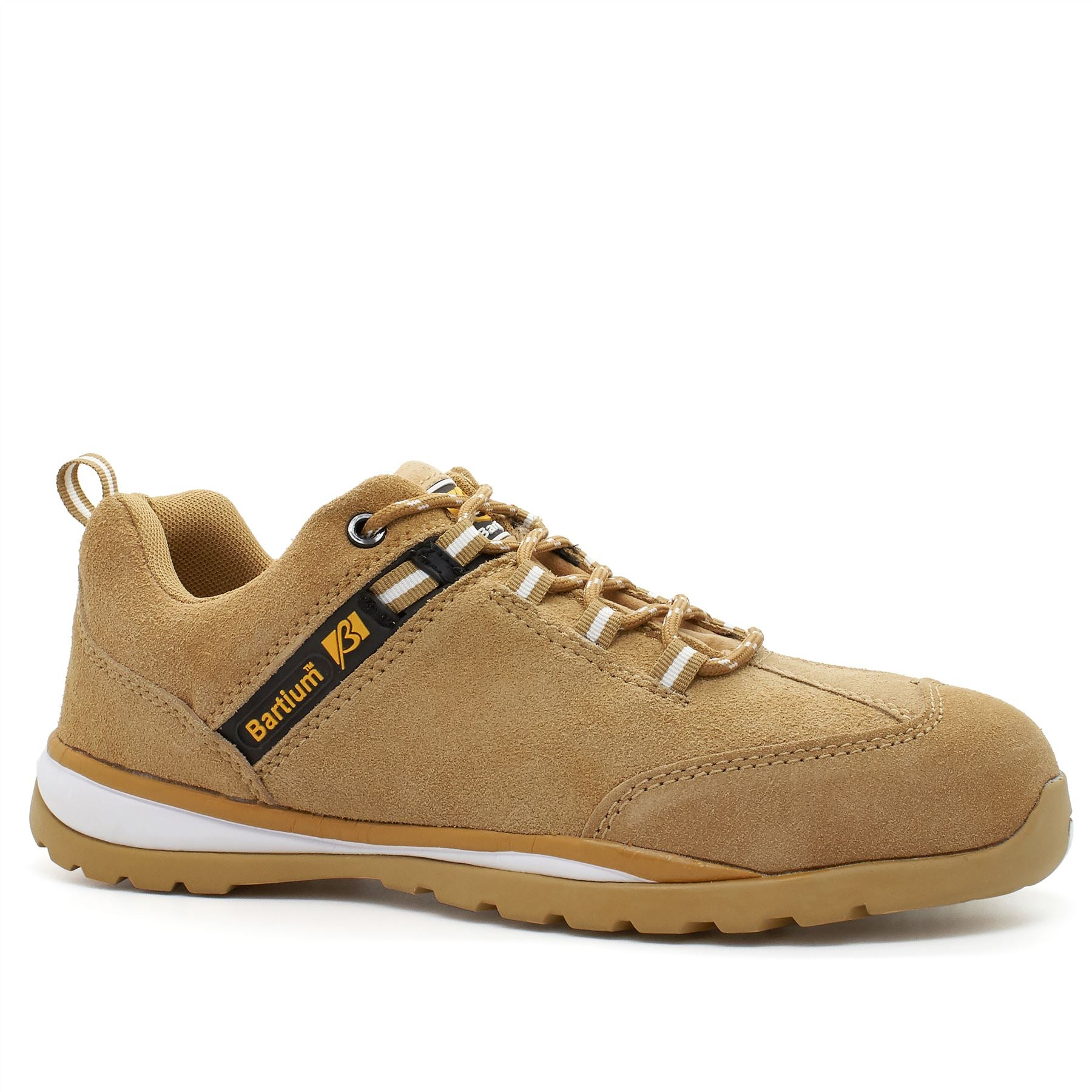 Sand Suede Composite Safety Trainers