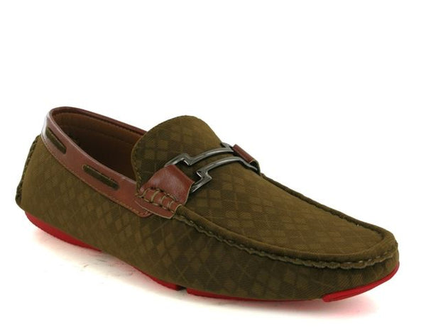Tan Corduroy Driving Shoes