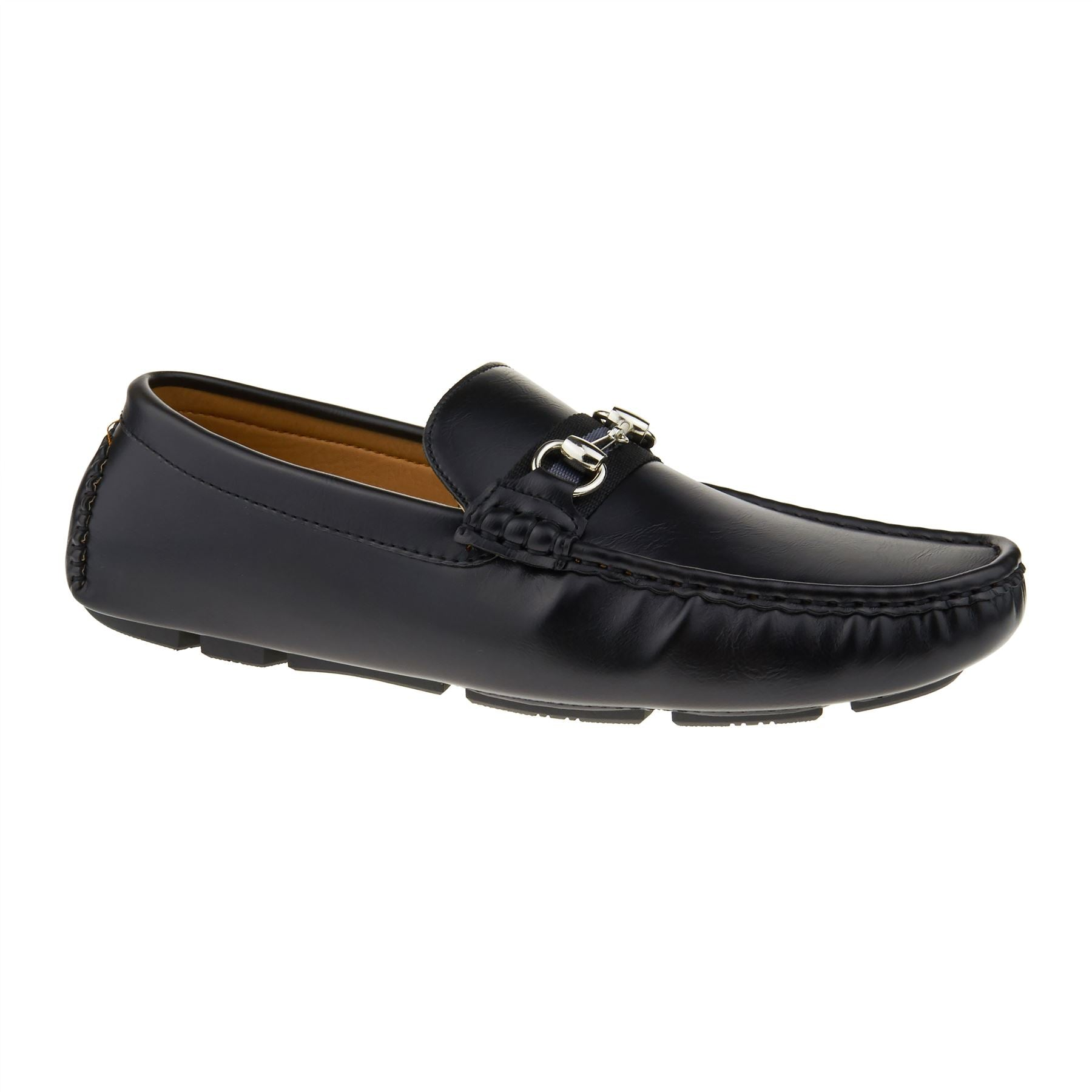 Black Horsebit Driving Shoes