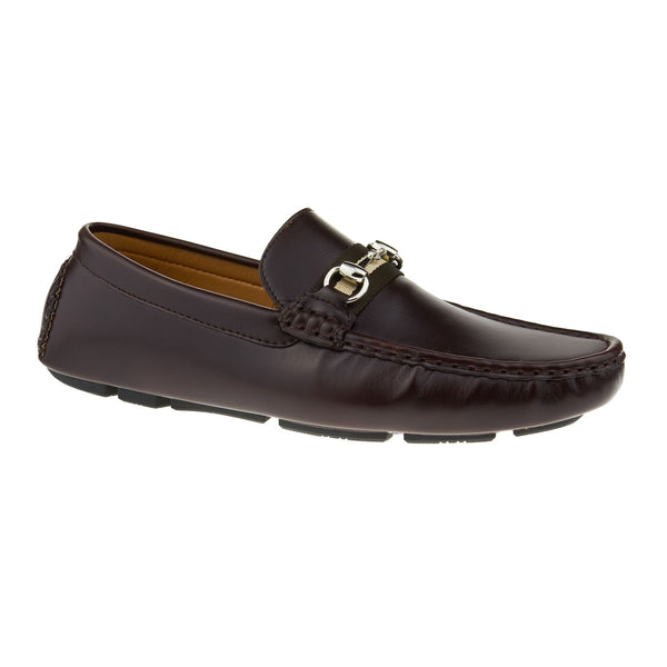 Brown Horsebit Driving Shoes