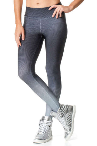 Vestem Shady Gray Gradient Sexy Workout Leggings