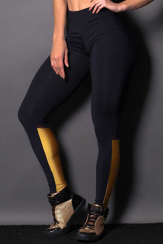 Bright Calf Workout Leggings