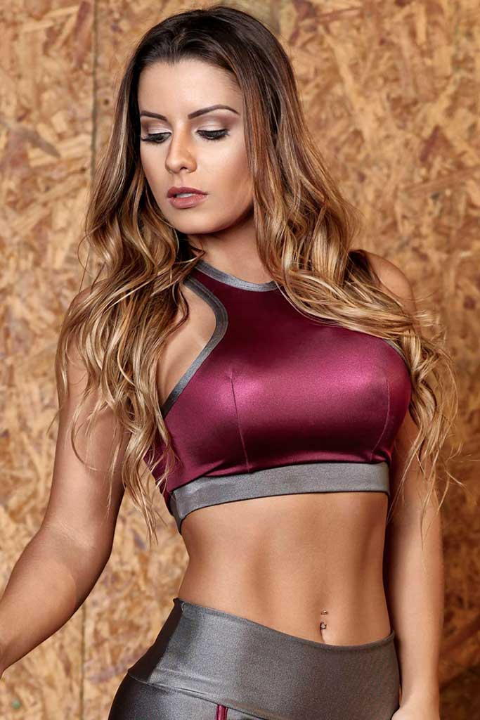 Empire Cirre Padded Workout Sports Bra