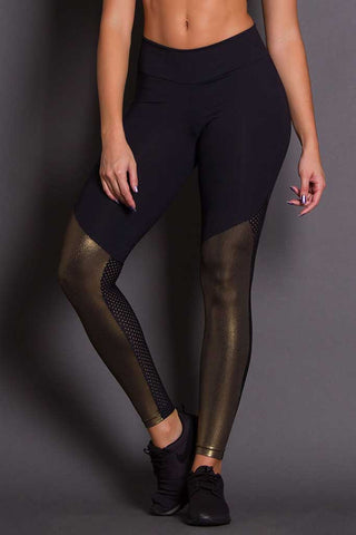 Revolution Golden Shin Workout Leggings