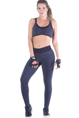 Basic Activewear Black Leggings