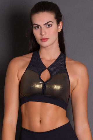 Revolution Golden Crossfit Sports Bra