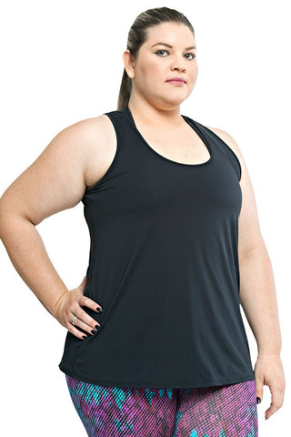 Trailline Basic Black Workout Tank