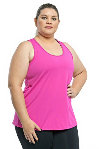 Trailline Basic Pink Teen Workout Tank