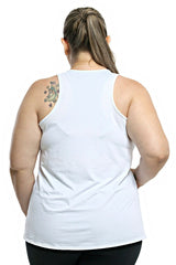 Trailline Basic White Workout Tank