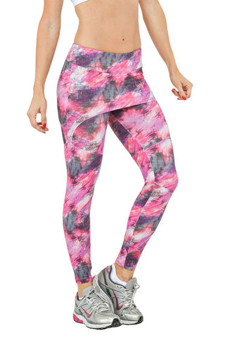 TRAILLINE Florida Paola In Colourful Skirt Topped Leggings