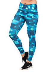 TRAILLINE Spring Belissima Skirt Topped Bluish Crossfit Leggings